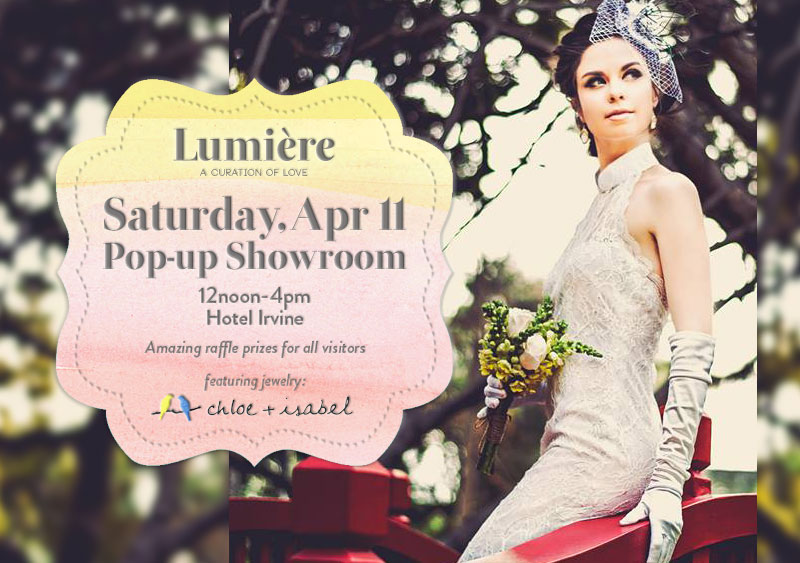 Lumiere Pop-up Showroom April 11