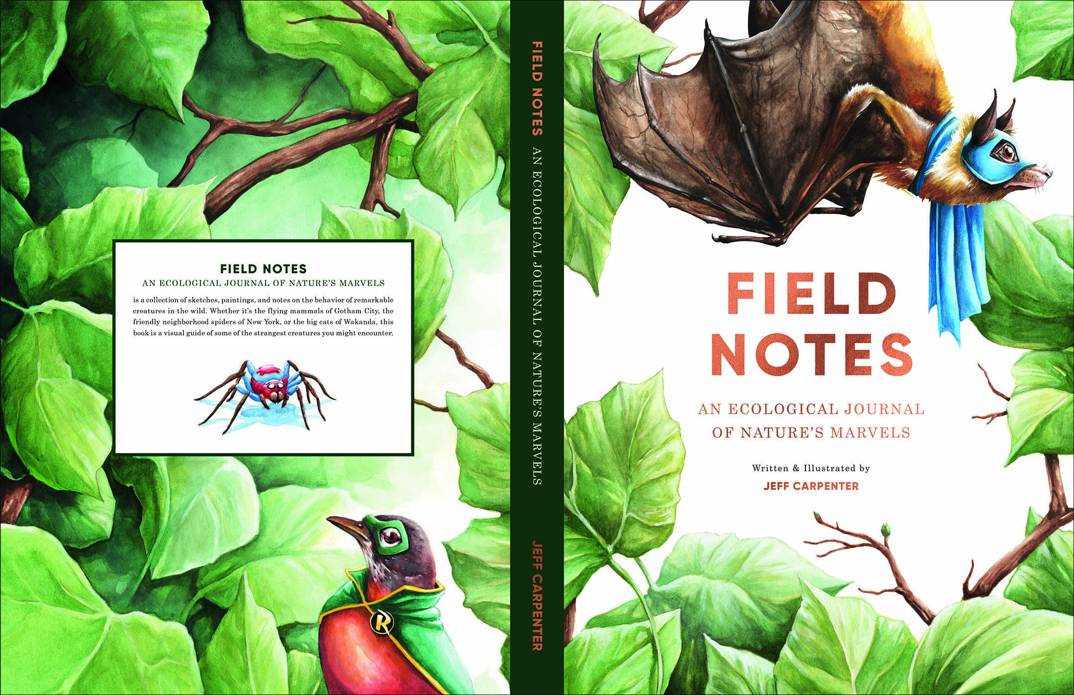 Book Cover . Illustration by Jeff Carpenter, text layout by Wren Bentley.