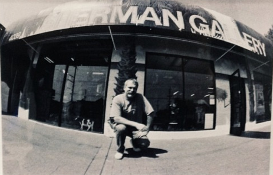 Martin Sherman at current Lincoln Blvd. location-photo taken Circa 1990's