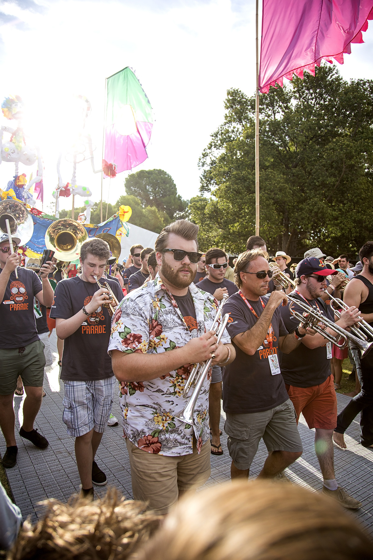 7 womadelaide festival parade trumpets.jpg
