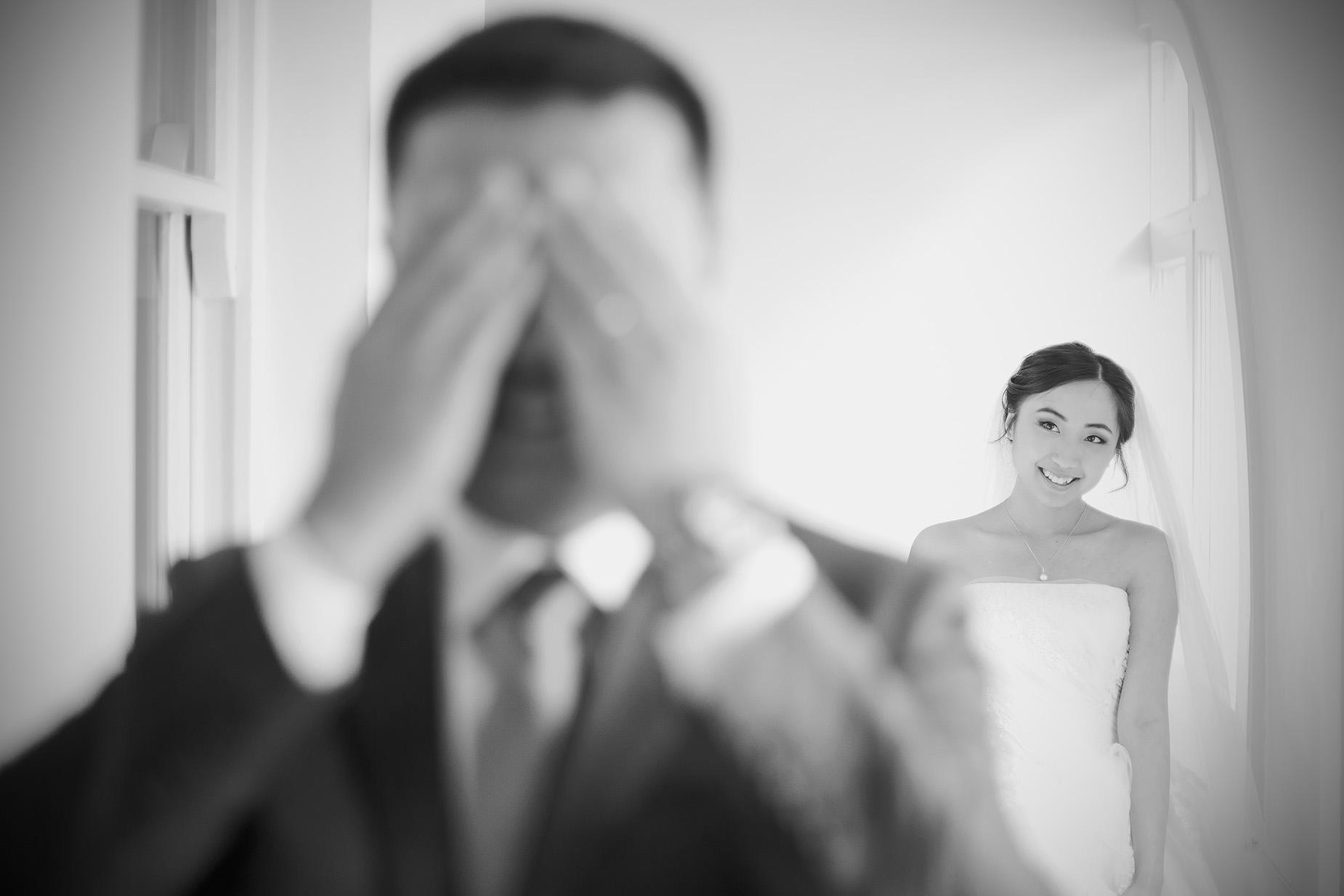 bride reveal portrait