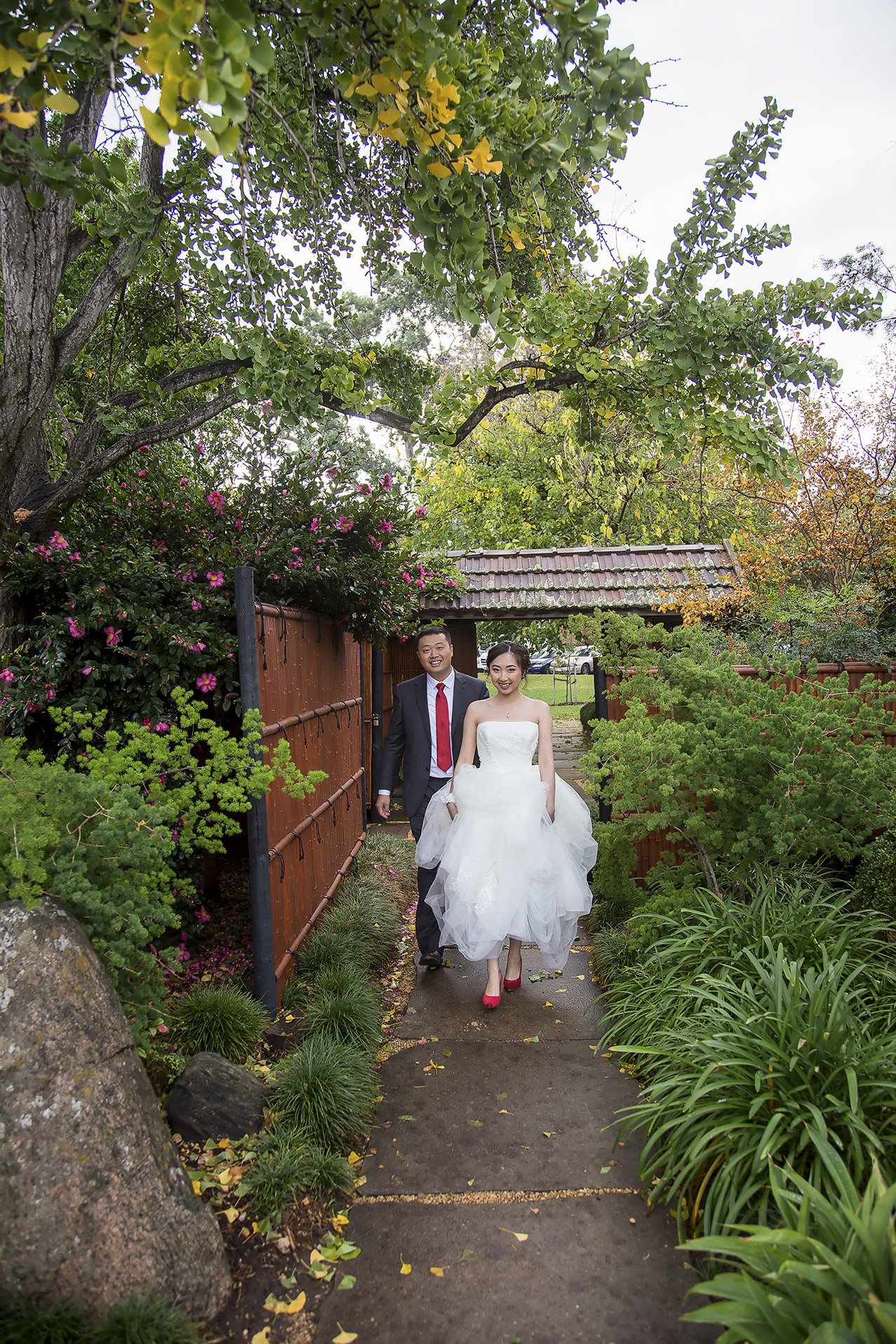 Wedding Photography Adelaide Japanese Himeji Gardens 1