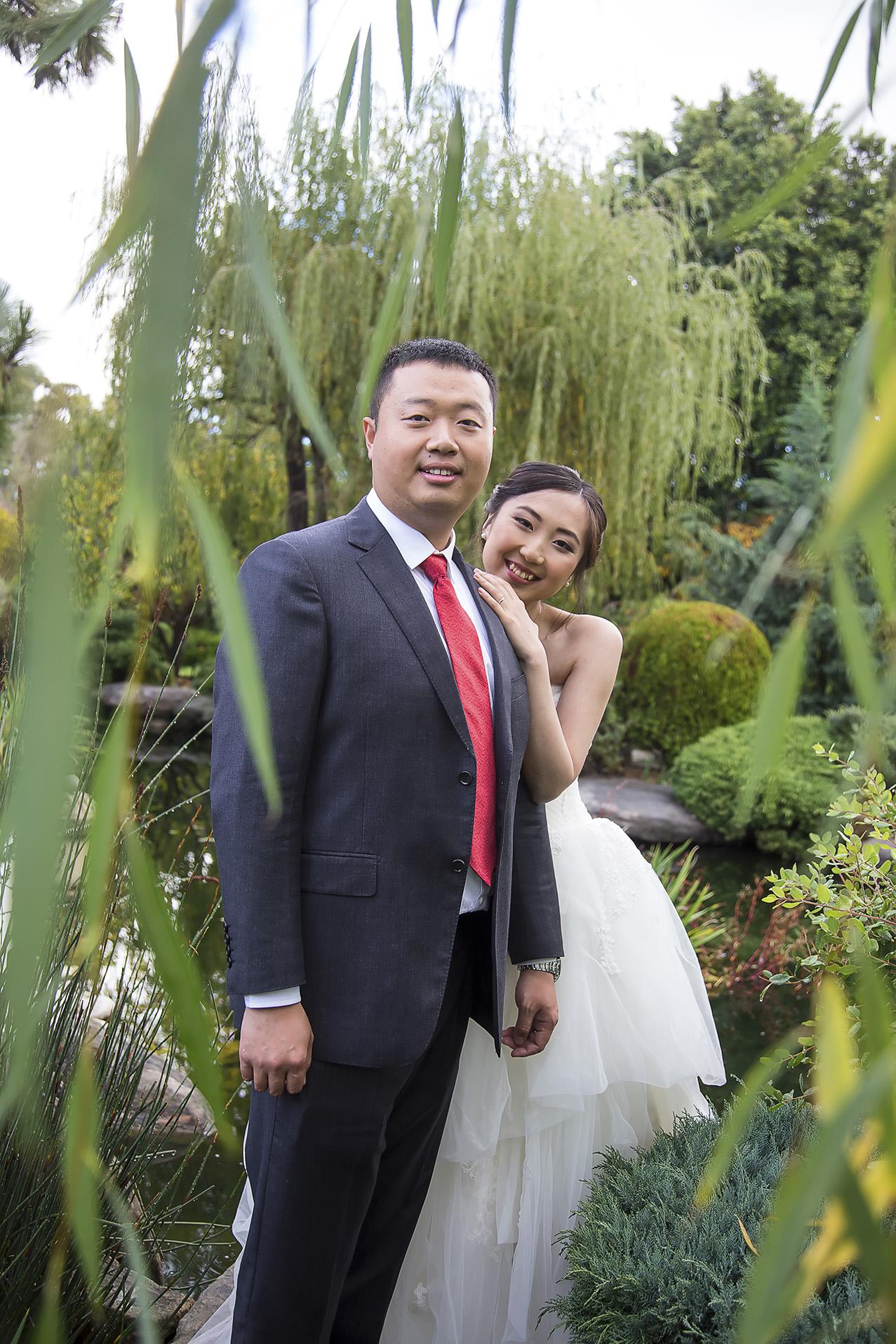Wedding Photography Adelaide Japanese Himeji Gardens 2