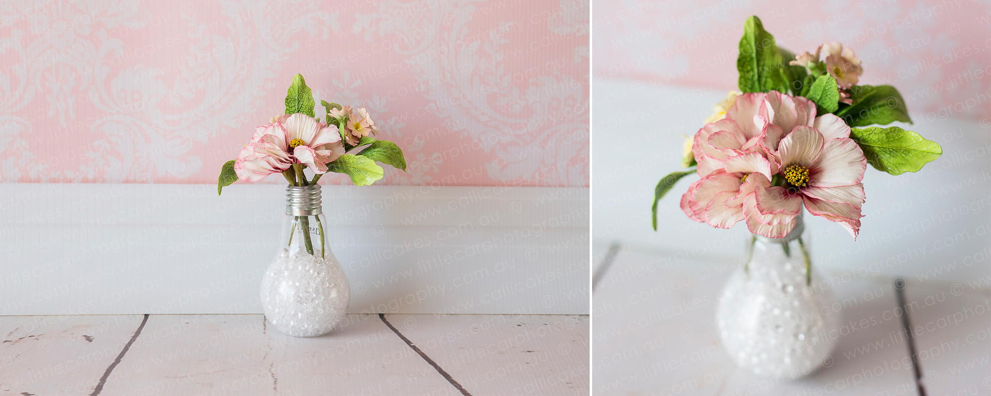 6 Wedding Photography of Sugar Art contemporary small bouquet.jpg