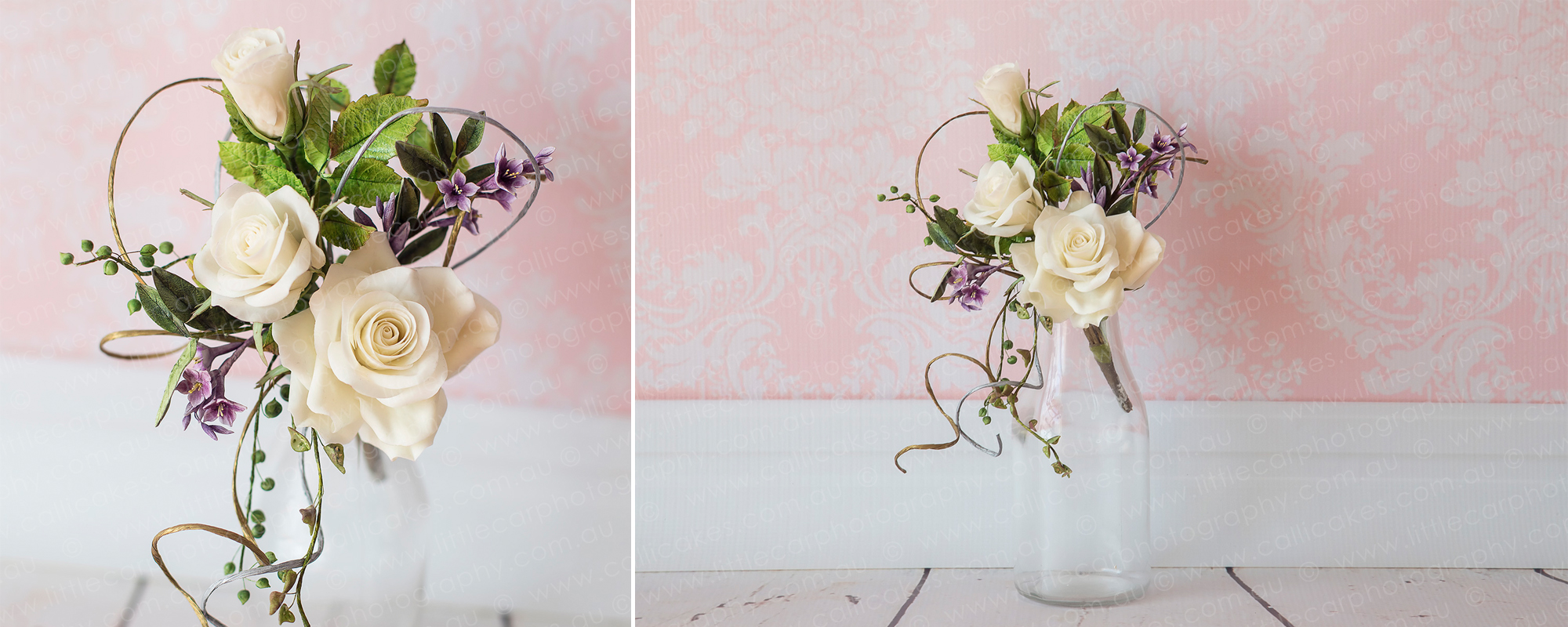 7 Wedding Photography of Sugar Art elegant rose bouquet.jpg