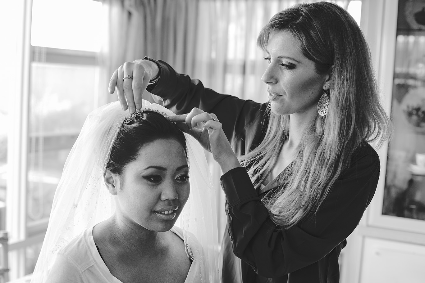 Bride Preparation Wedding Photo 001