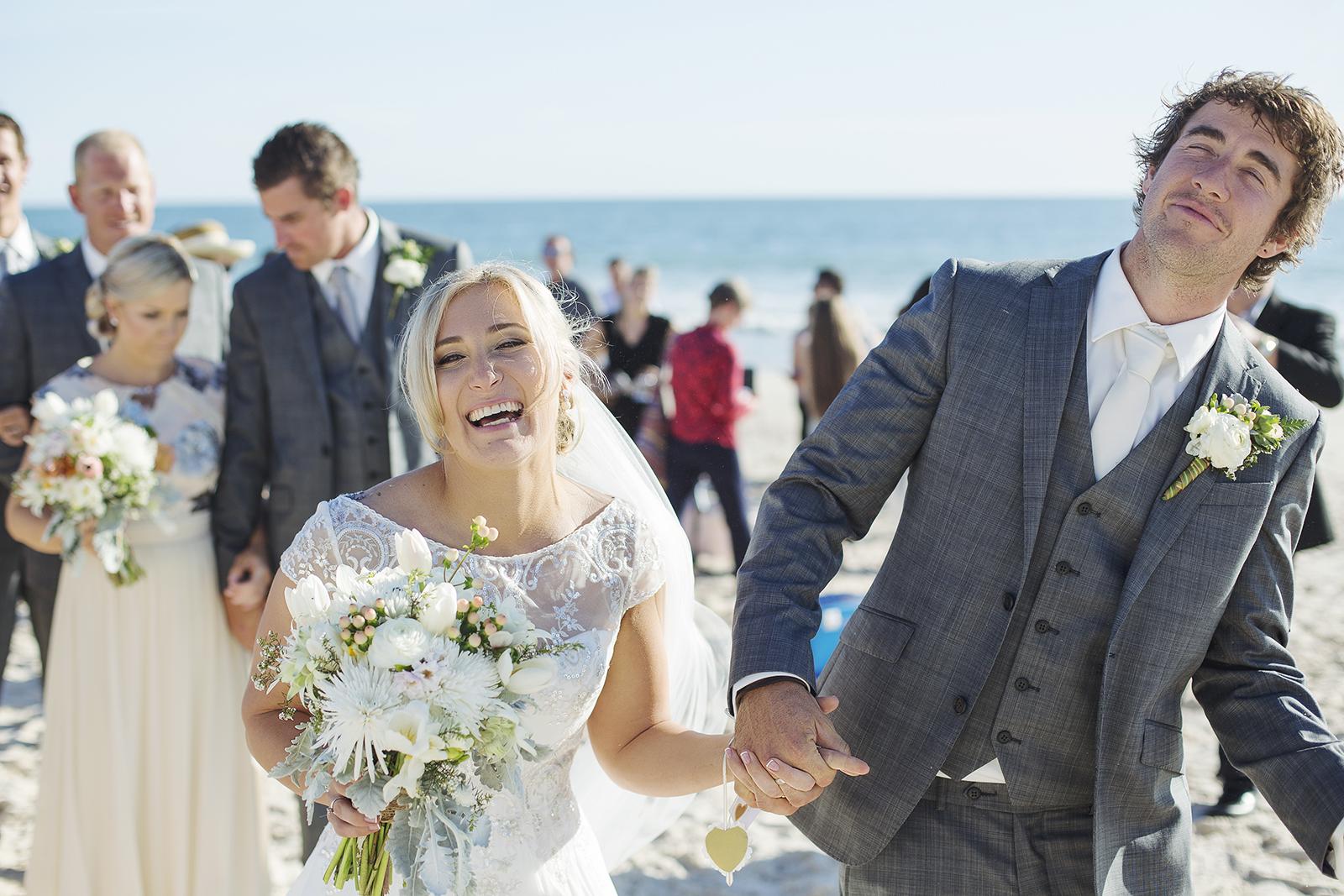 Adelaide Beach Wedding 64 Henley Beach Wedding Ceremony.jpg
