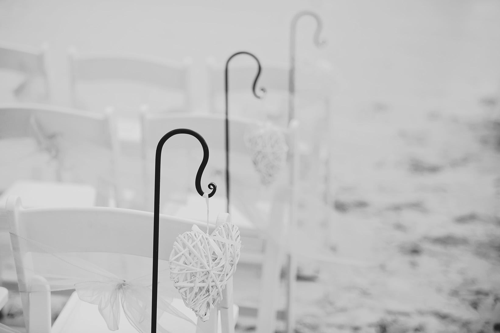 Adelaide Beach Wedding West Beach 02 Black White Hearts.jpg
