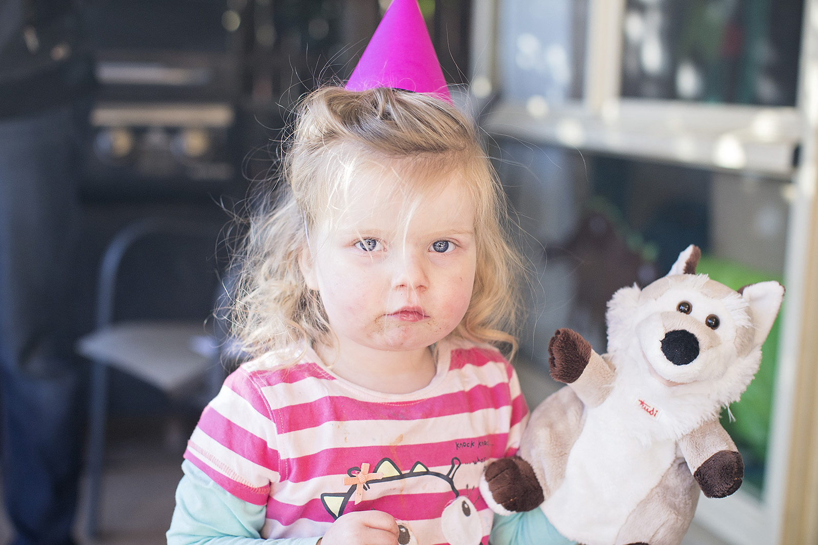 Candid Natural Kids Dino Birthday Party Portraits 14.jpg
