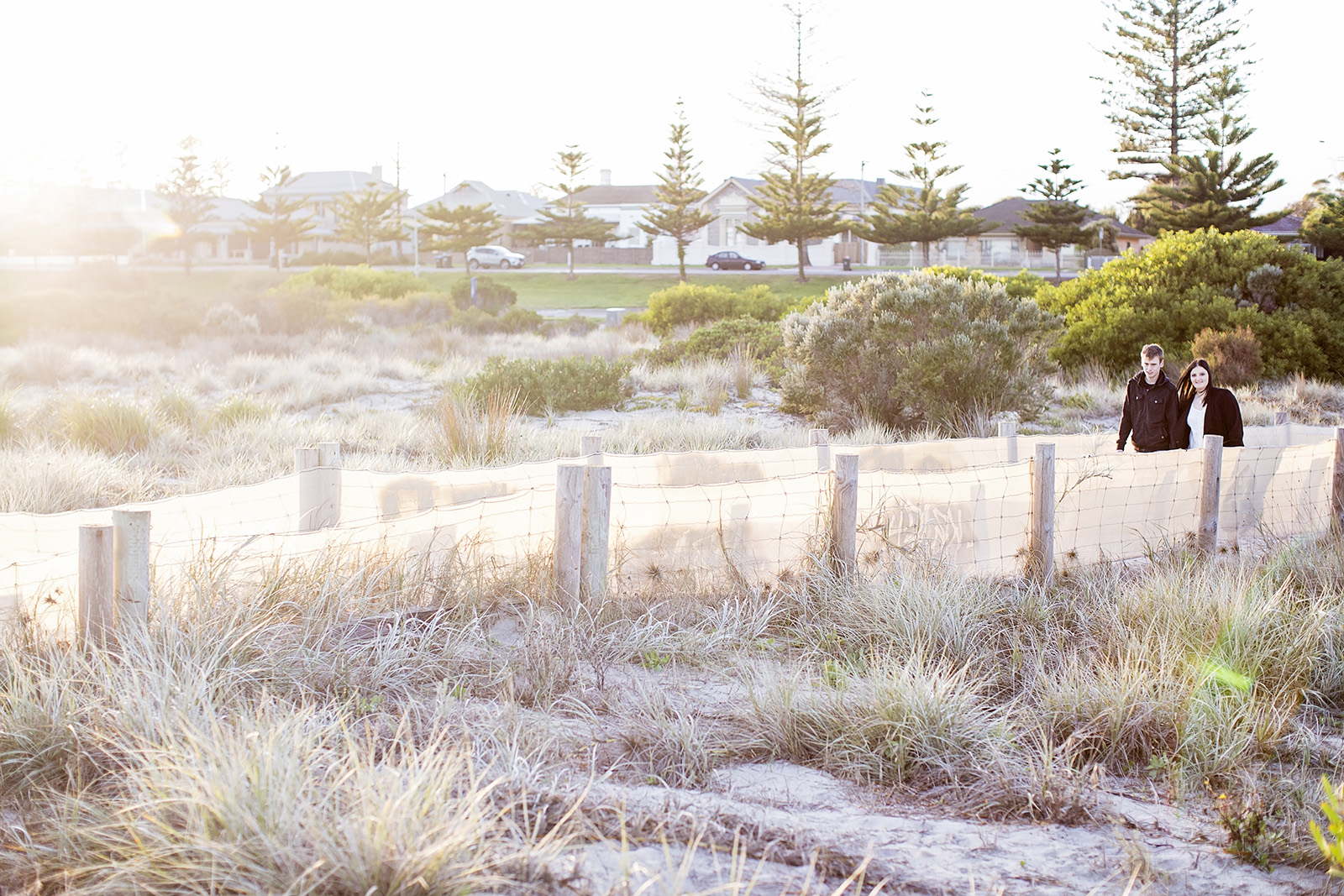 Semaphore Sunrise Beach Engagement Photos 09.jpg