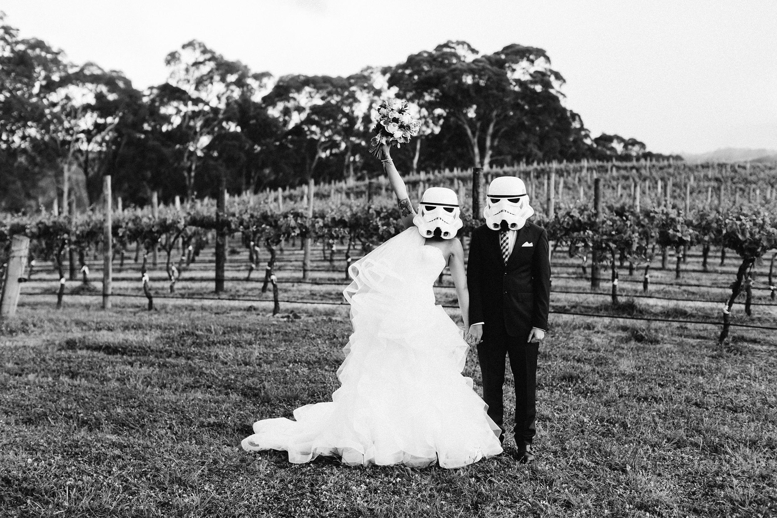 How to prepare for your wedding photos: fun wedding photos