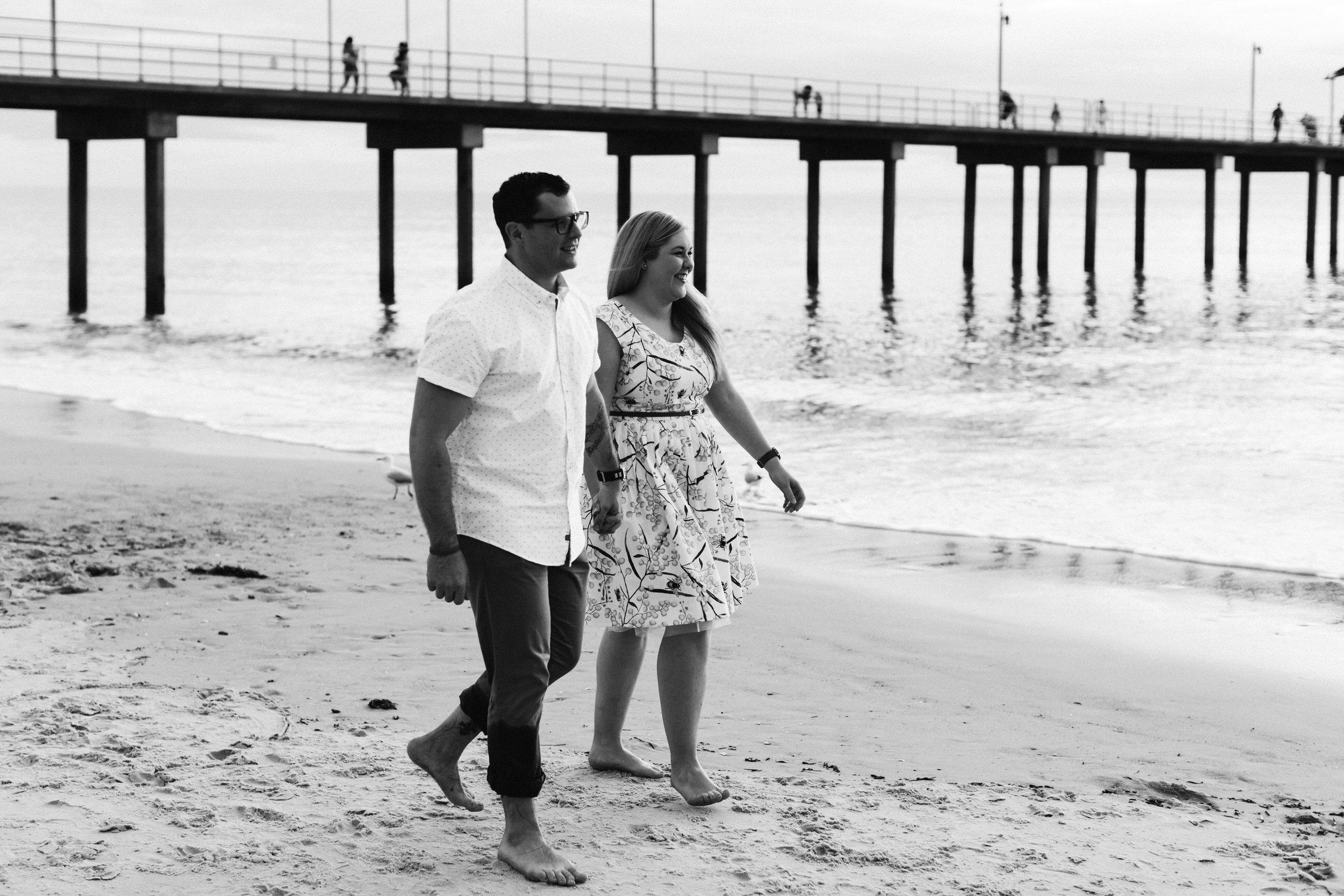 Fun Brighton Beach Sunset Engagement 006.jpg