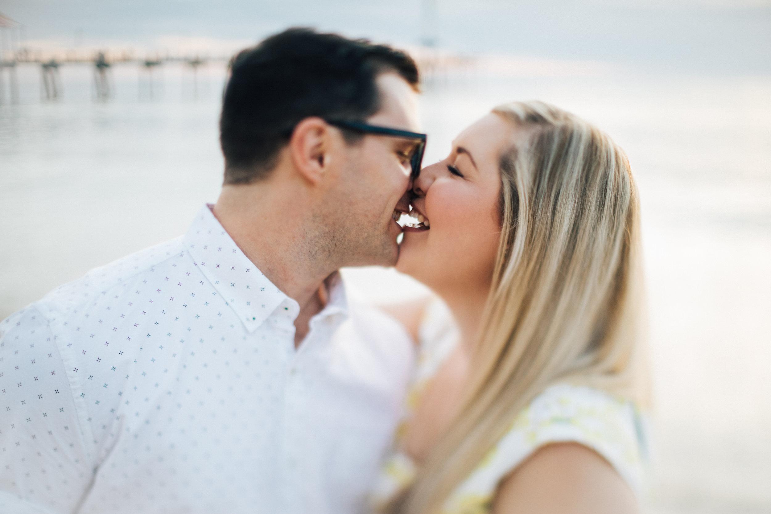 Fun Brighton Beach Sunset Engagement 014.jpg