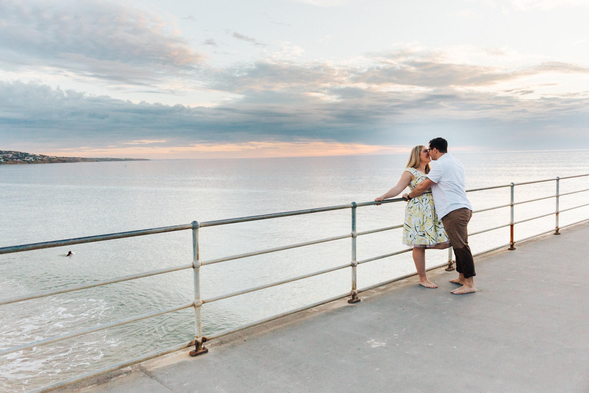 Fun Brighton Beach Sunset Engagement 020.jpg