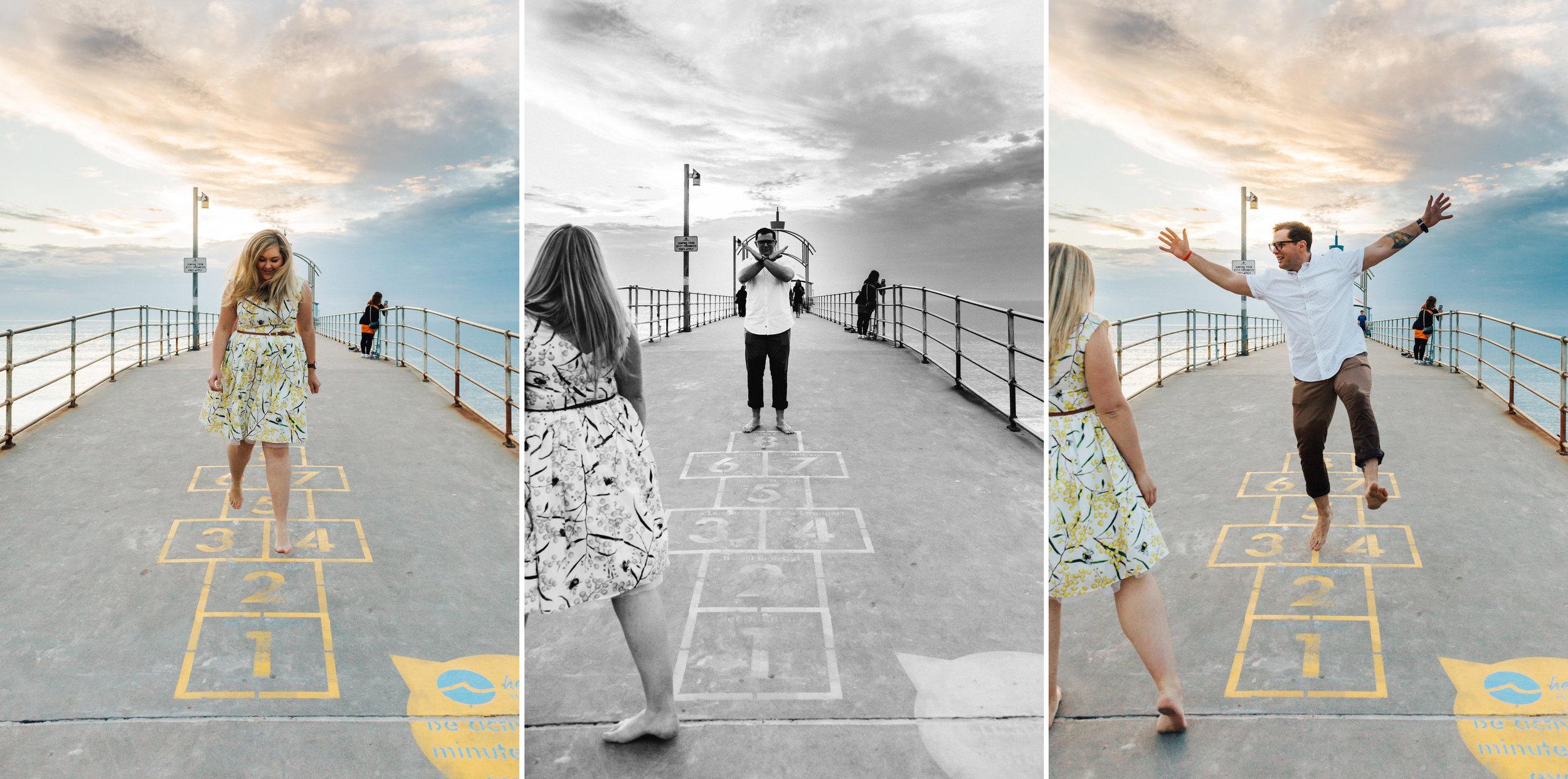 Fun Brighton Beach Sunset Engagement 022.jpg