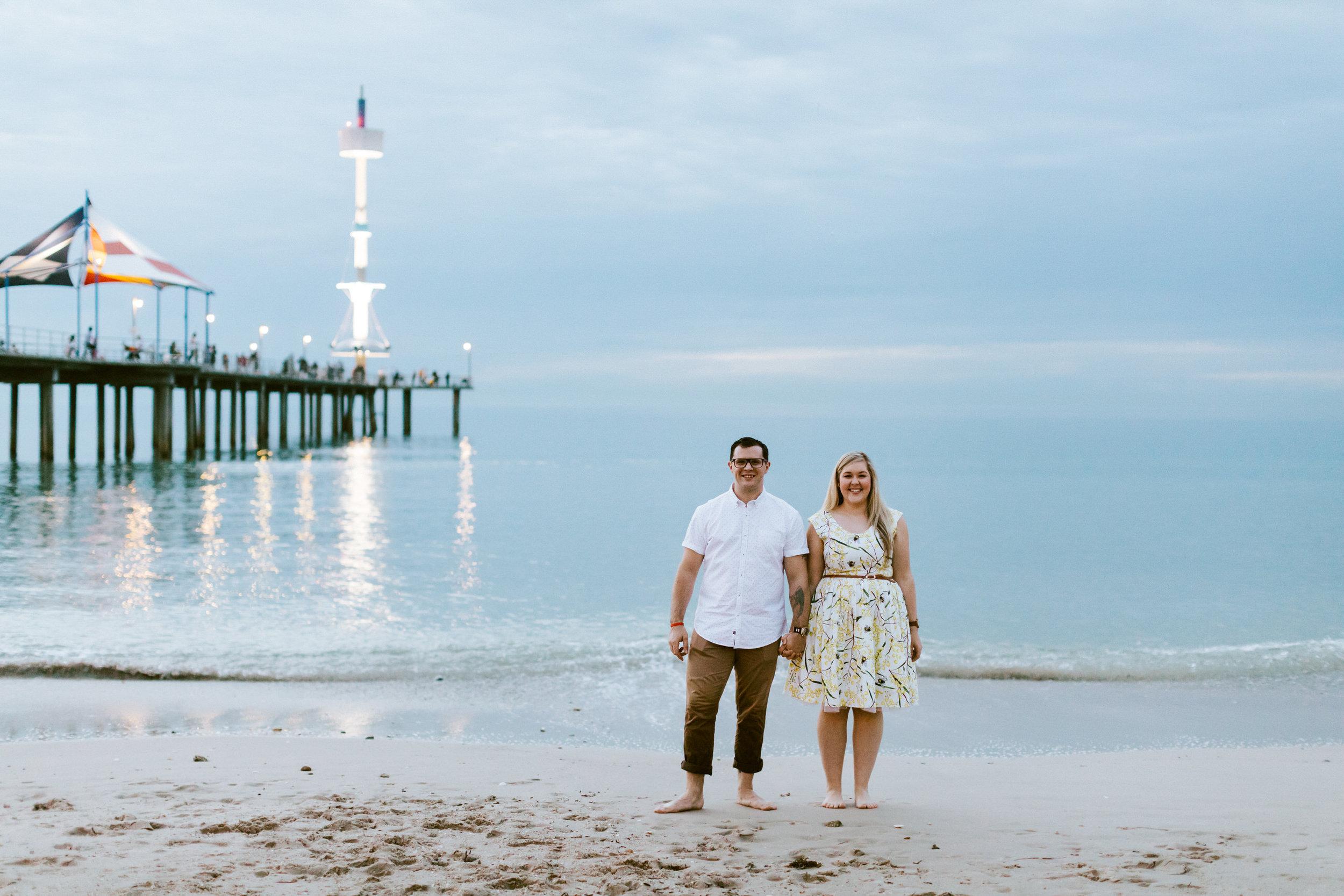 Fun Brighton Beach Sunset Engagement 027.jpg