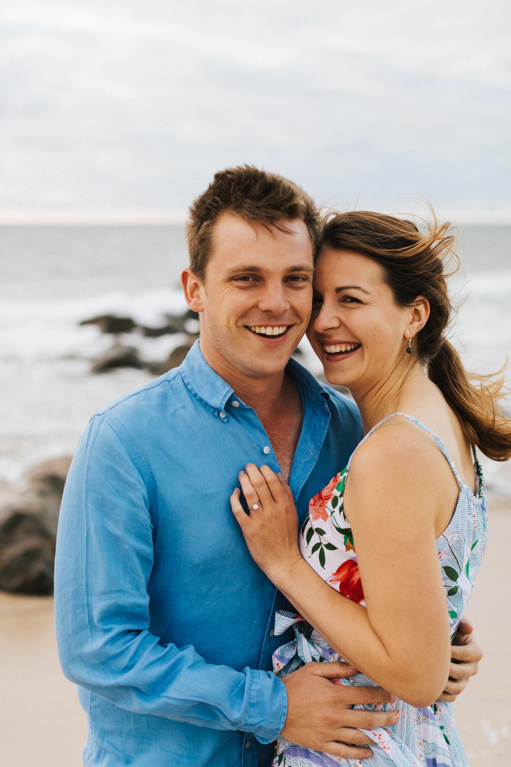 Stormy Summer Glenelg Beach Engagement Portrait 006.jpg