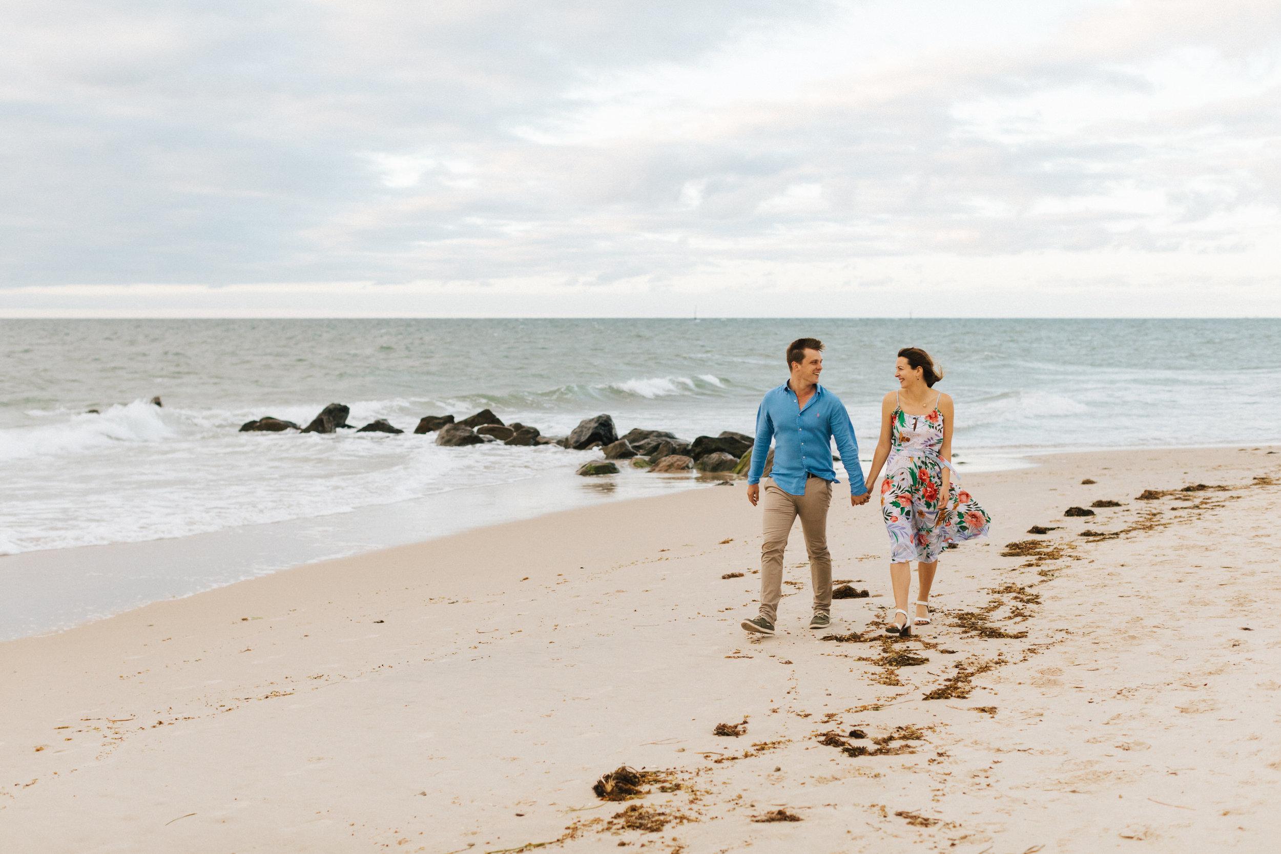 Stormy Summer Glenelg Beach Engagement Portrait 007.jpg