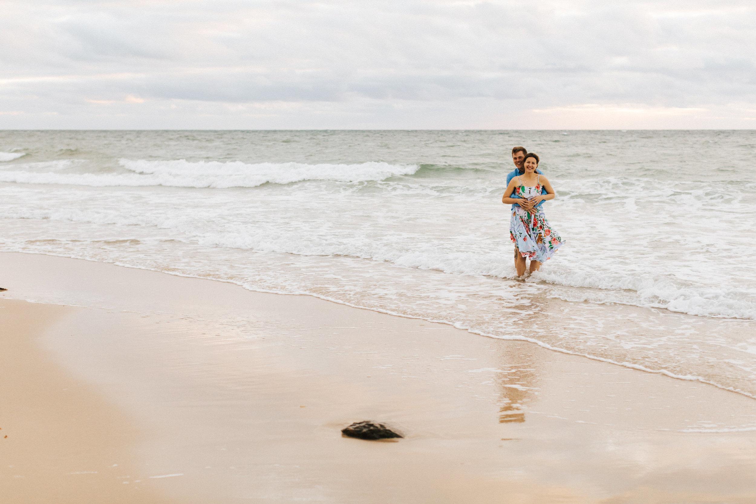 Stormy Summer Glenelg Beach Engagement Portrait 013.jpg