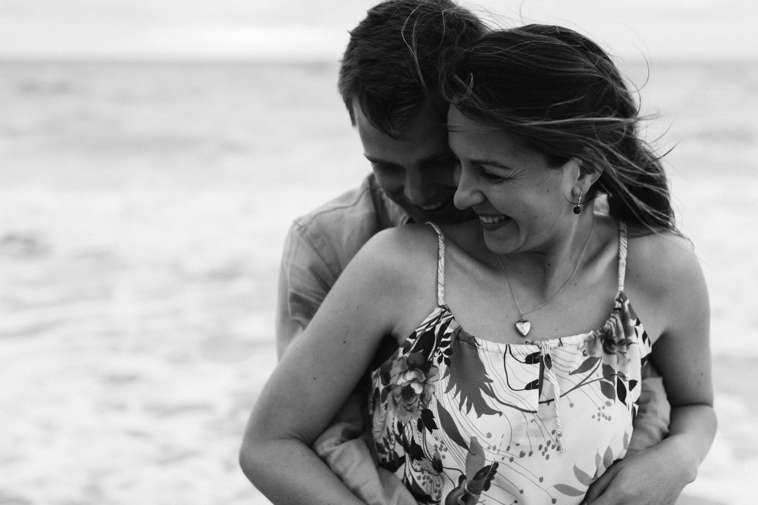 Stormy Summer Glenelg Beach Engagement Portrait 015.jpg