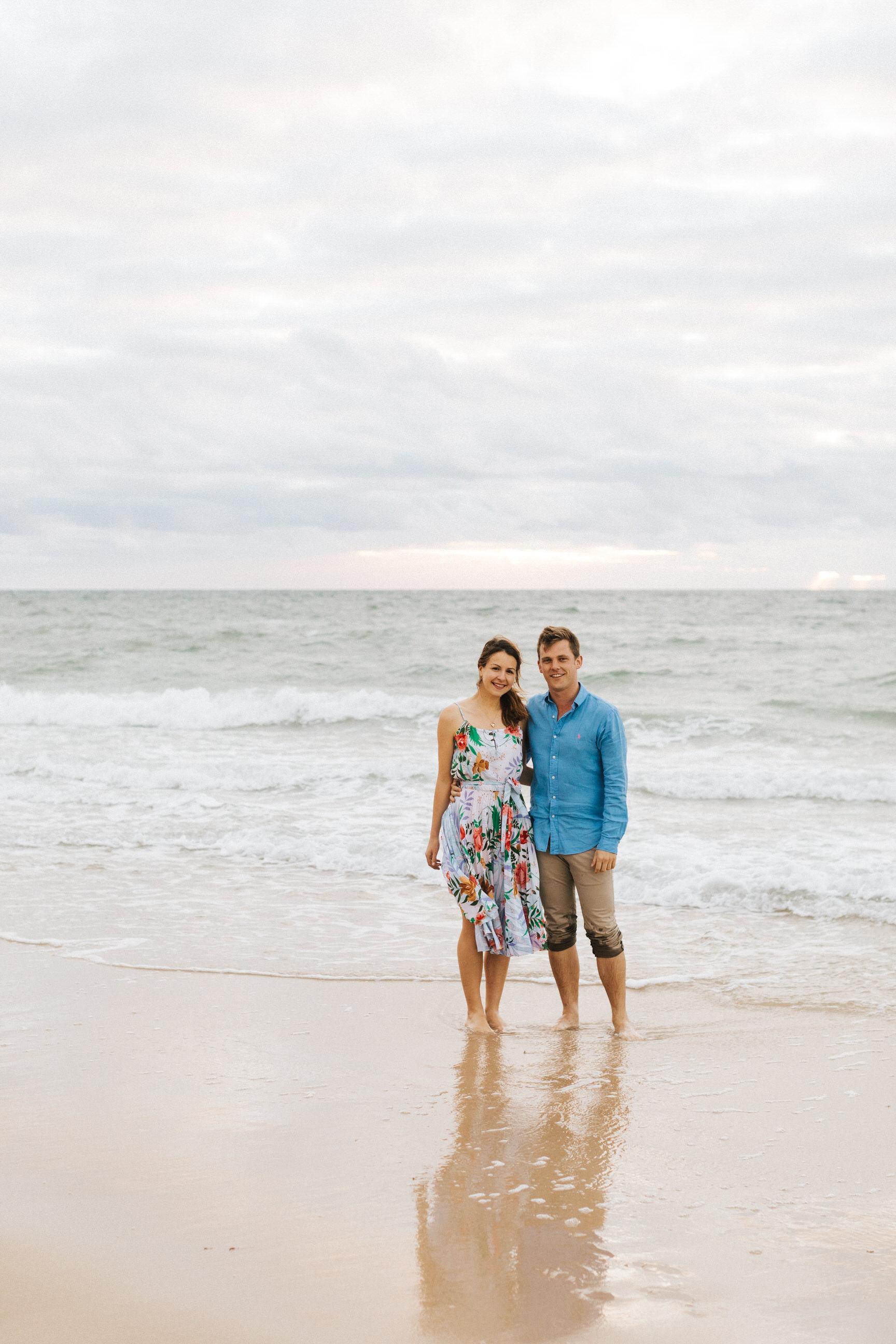 Stormy Summer Glenelg Beach Engagement Portrait 016.jpg
