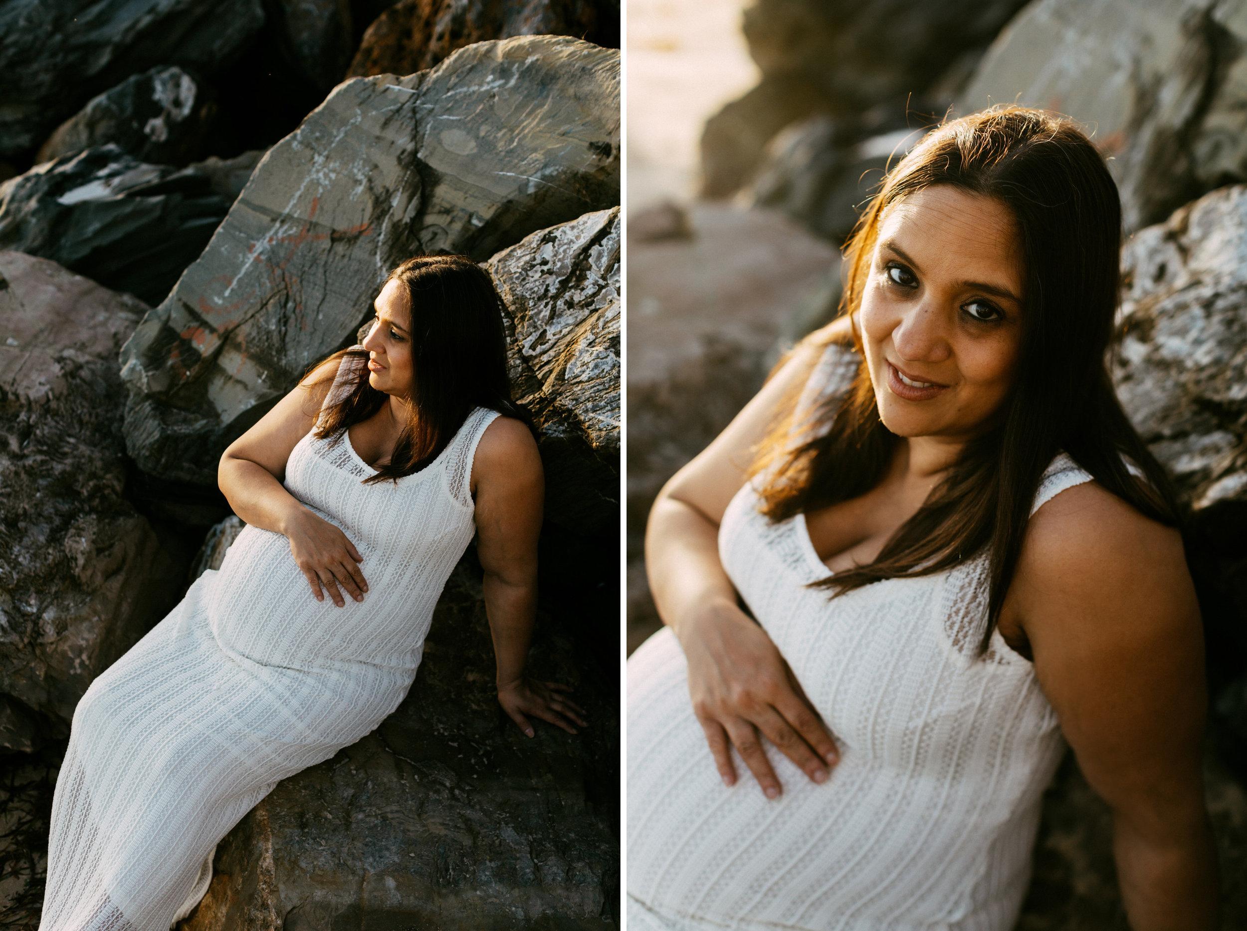 Beach Natural Maternity Portrait Session 031.jpg