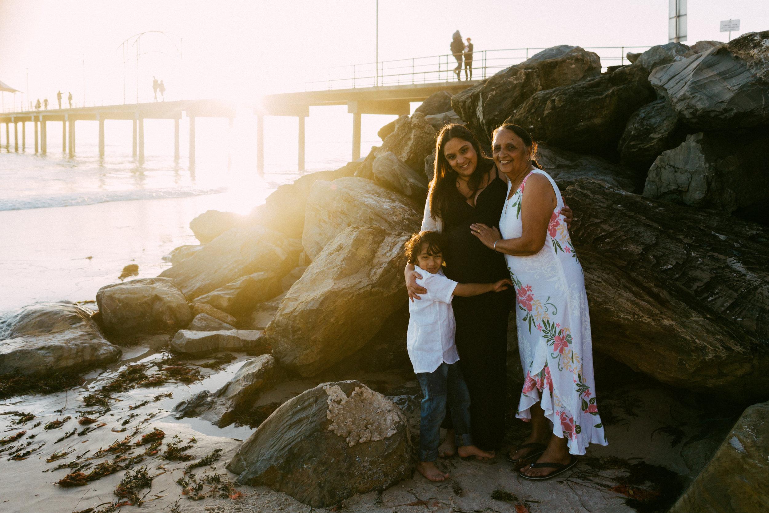 Beach Natural Maternity Portrait Session 041.jpg