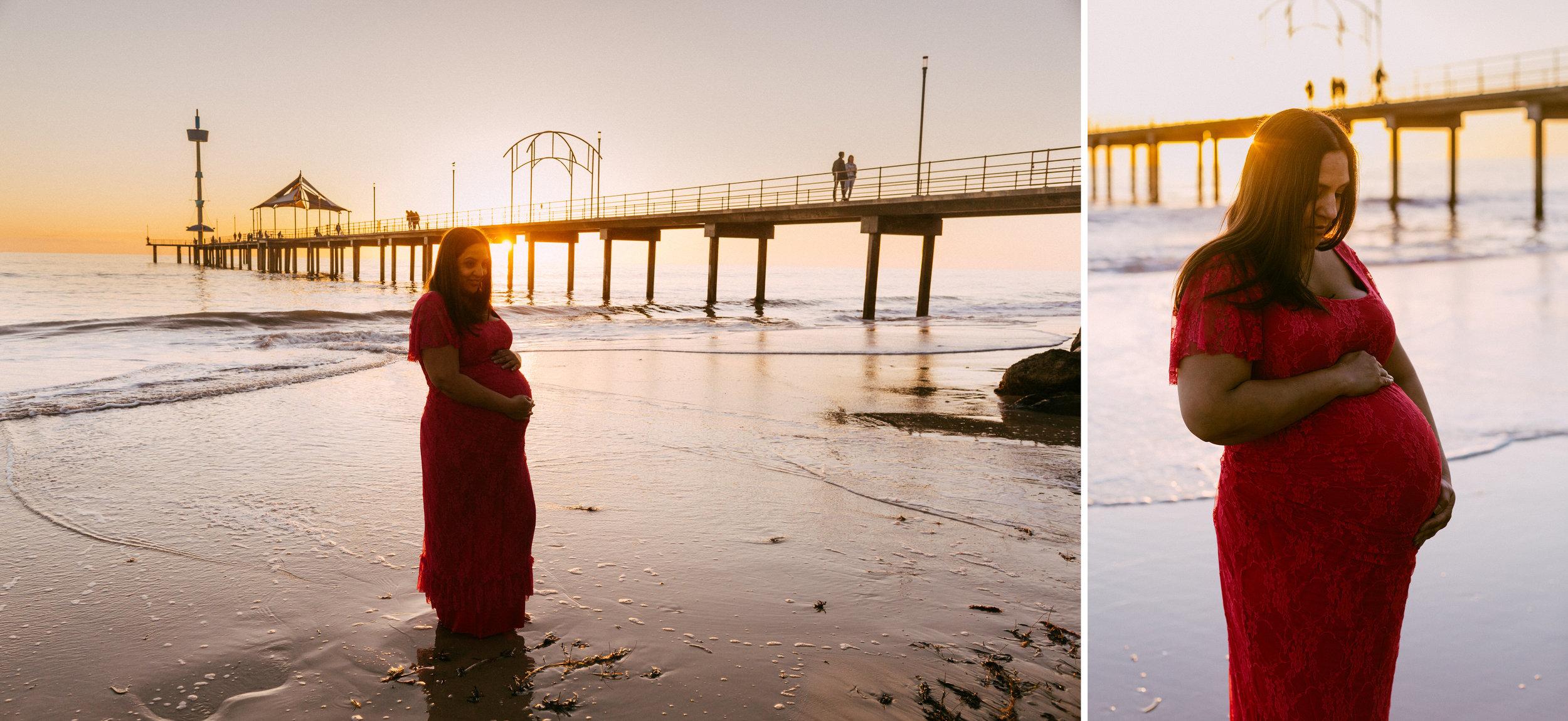 Beach Natural Maternity Portrait Session 054.jpg