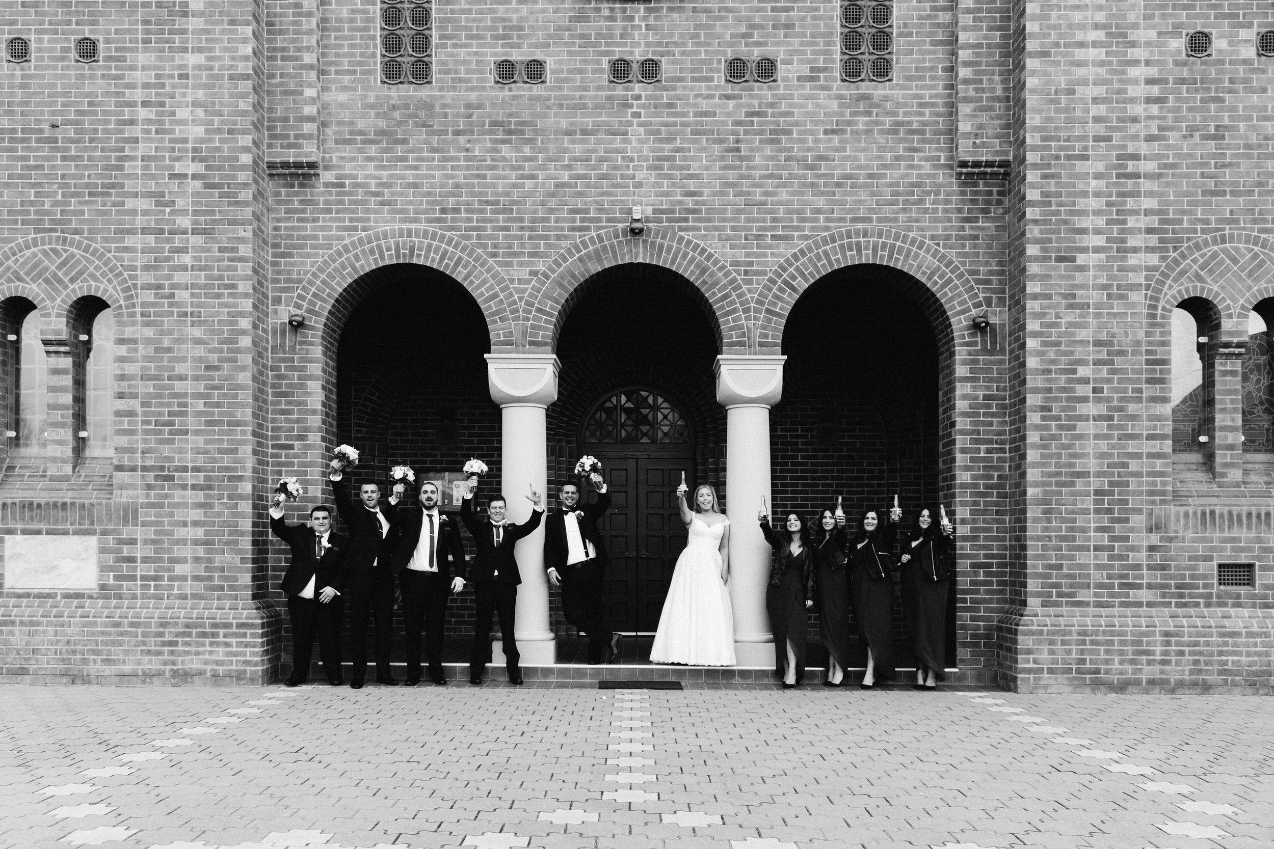 Adelaide Wedding Church Smoke Bomb Serafino 086.jpg