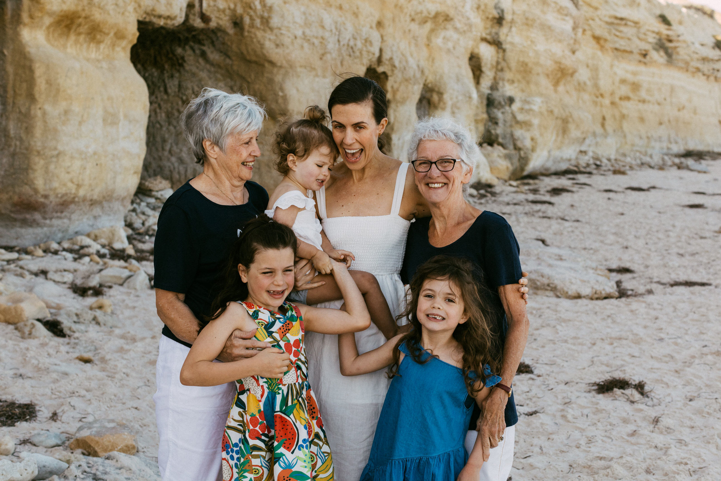 Natural Portraits for Large Family on Beach South Australia 021.JPG