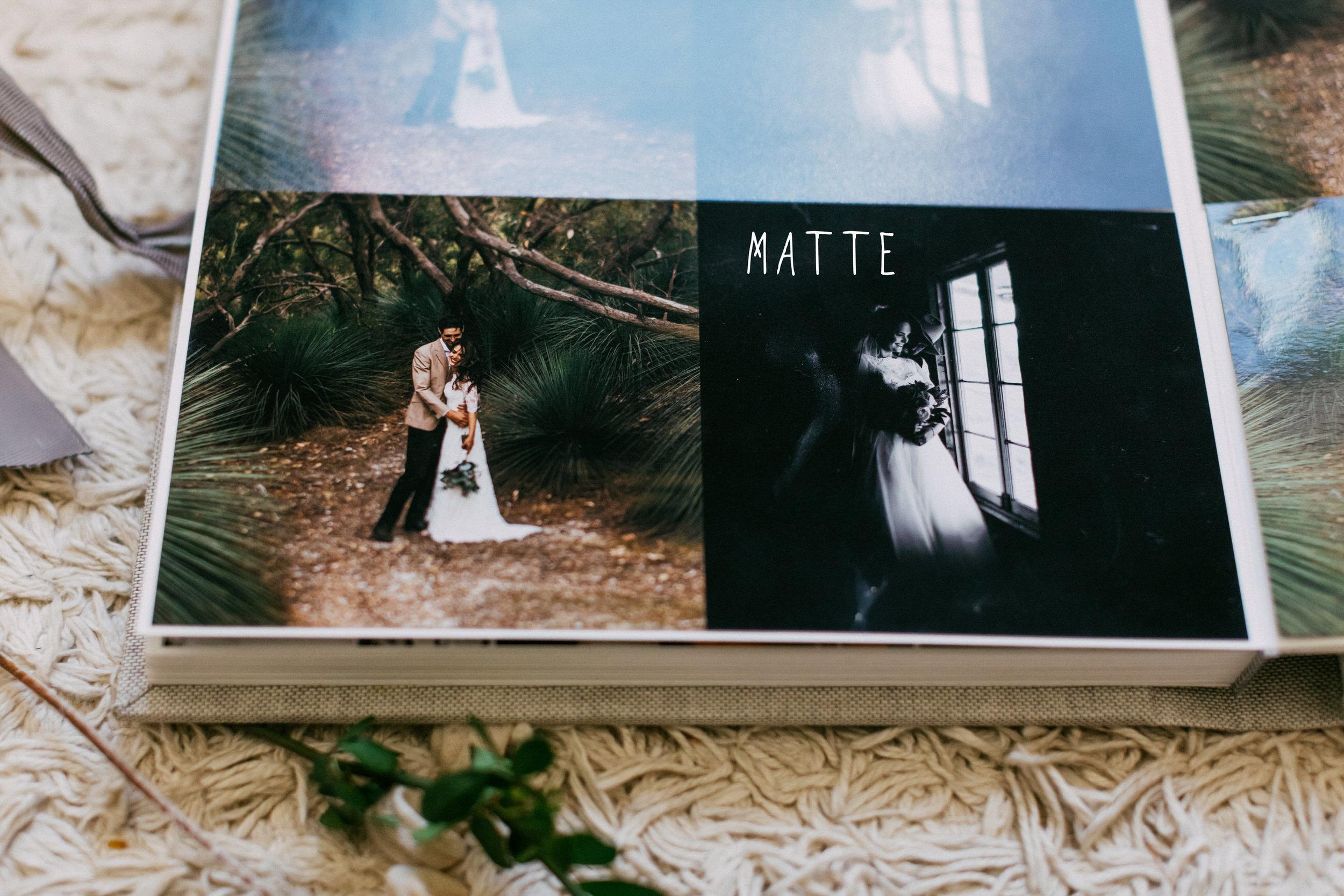 Print Option - Matte