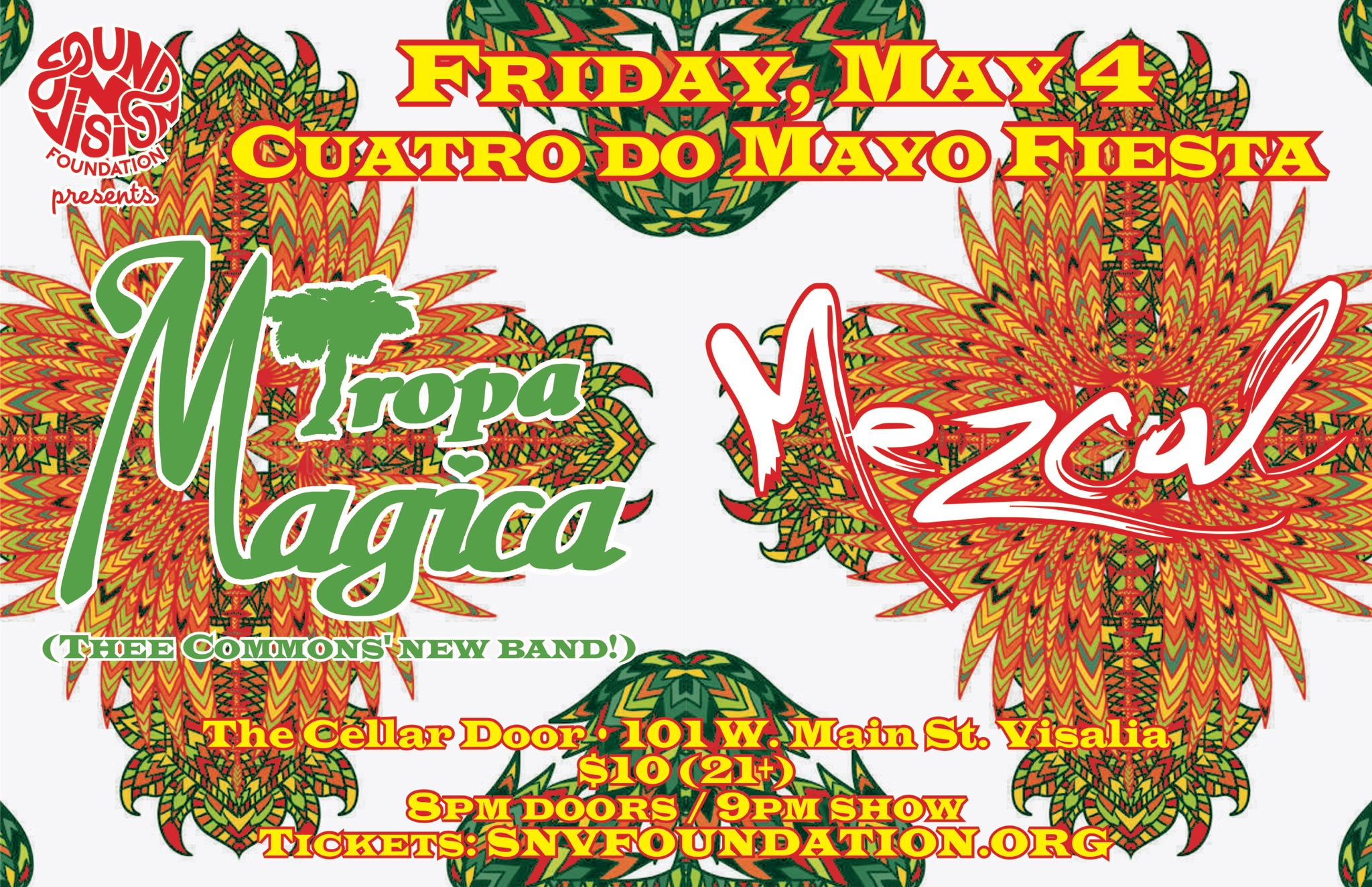 Super cumbia bands unite for one night! Come on down!