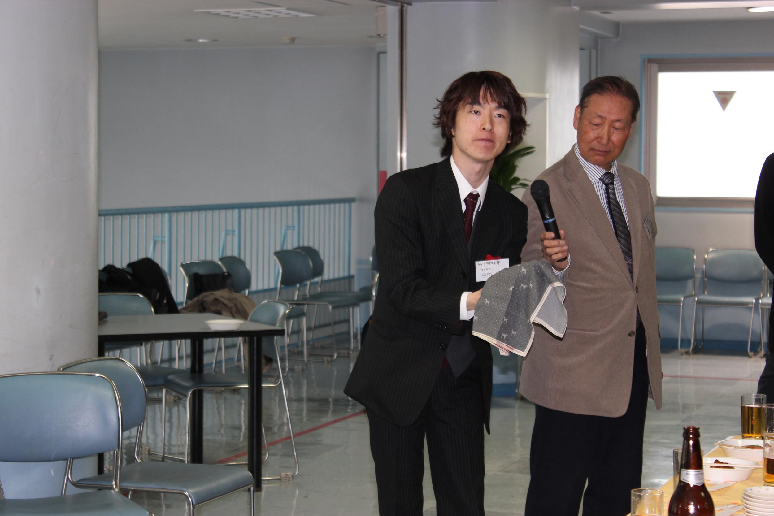 日向大祐氏のマジックショー