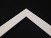 White - A smooth white frame
