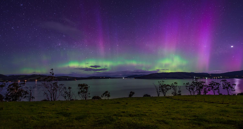 Aurora At Joes - Tinderbox Tasmania - Wilkography