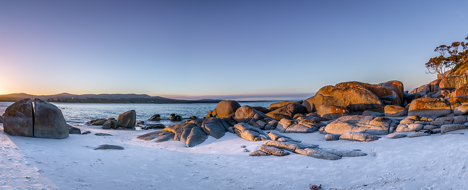 Binalong Bay Panorama - East Coast Tasmania - Wilkography