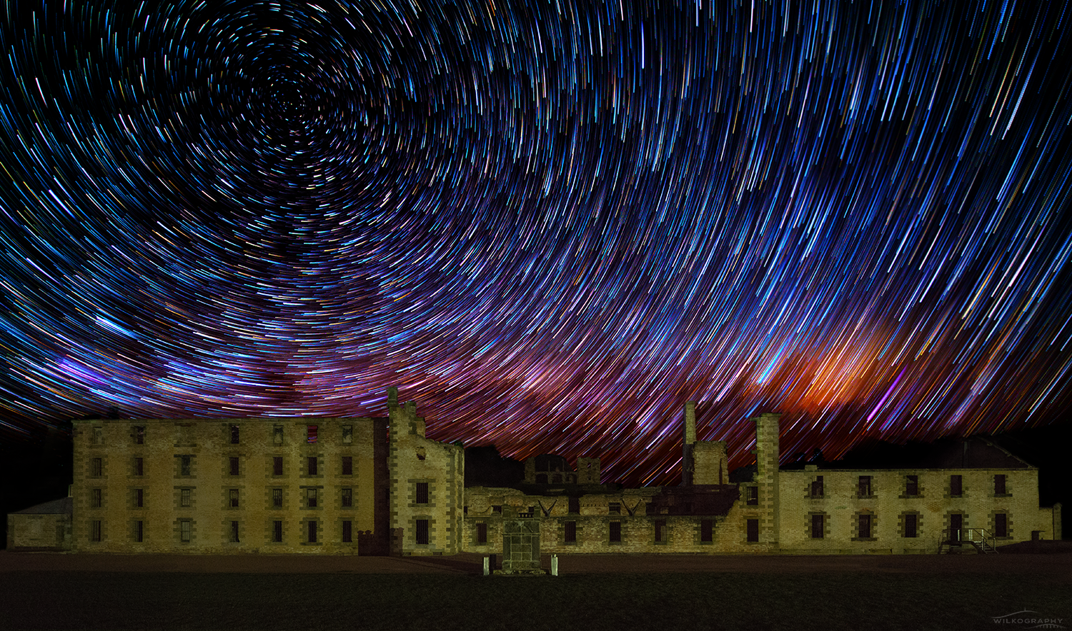 The Penitentiary & Comet Star Trails #17