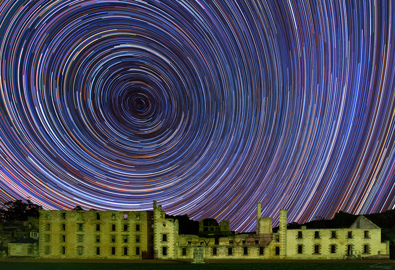 The Penitentiary Star Trails #18