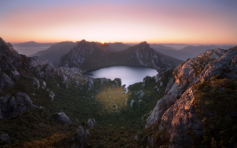Lake Oberon - Golden Hour