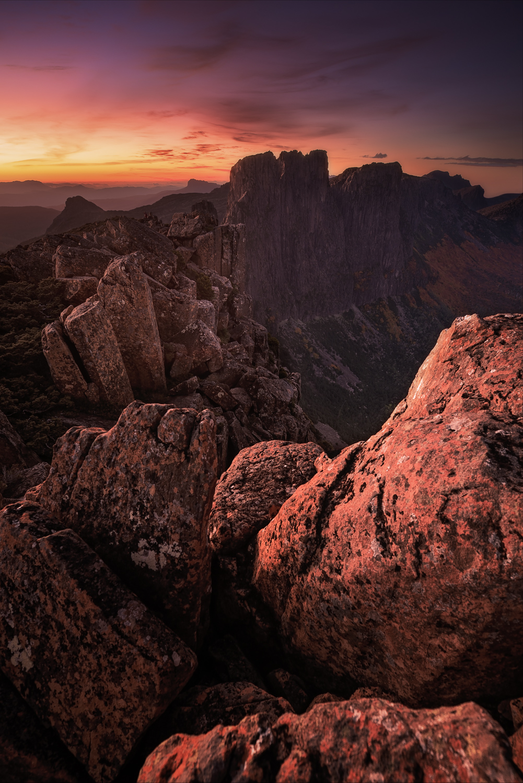 Tasmanian Photography - Acropolis Falling - WILKOGRAPHY.jpg