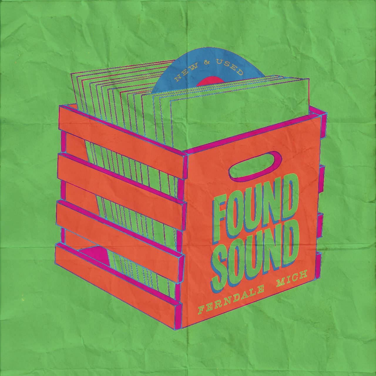 Found Sound    234 W 9 Mile Rd    Ferndale, Michigan 48220     https://www.facebook.com/foundsoundvinyl