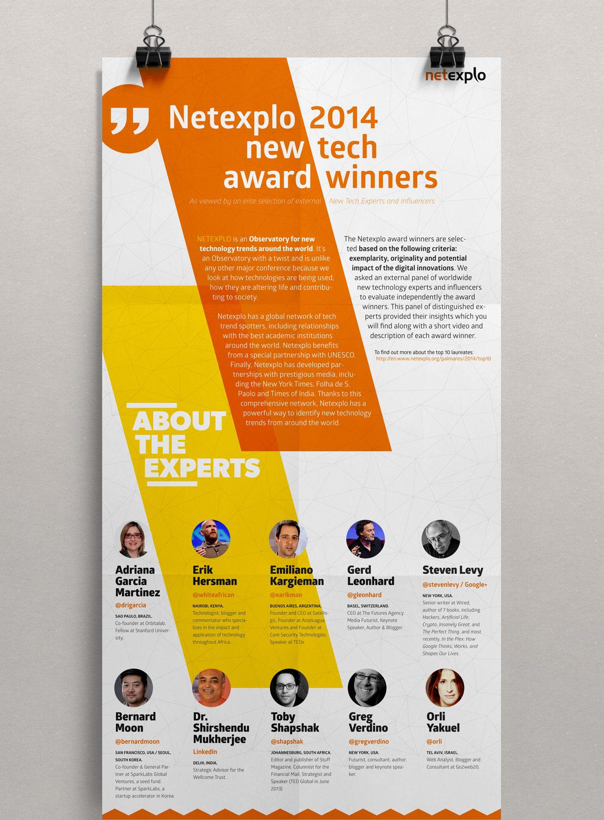 INTERACTIVE INFOGRAPHIC : NETEXPLO Created for Netexplo for the forum at the Unesco.