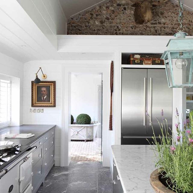 "So pleased to see our kitchen at ""The Stable Yard"" in House & Garden this month. @haminteriors @houseandgardenuk . . . #kitchen #antique #tomhouseproperty #propertydevelopment  #interiordesign #bespokekitchen #ecclecticdecor #kitchengoals"
