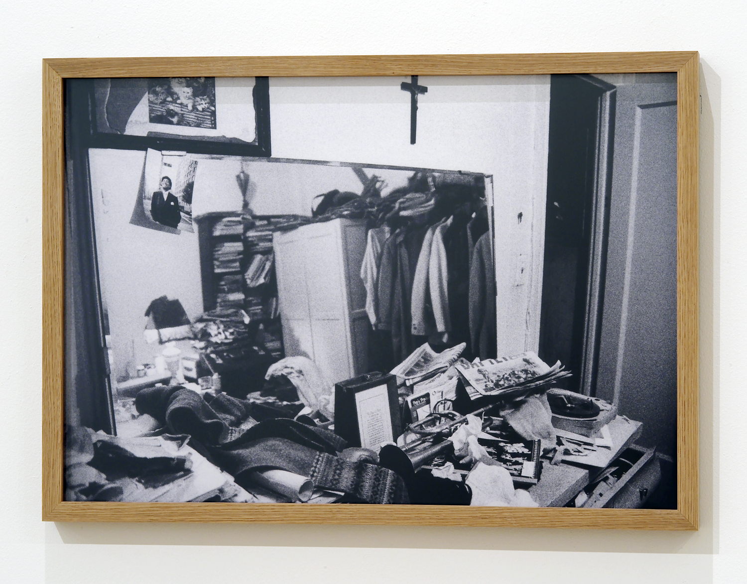 """Jacques Butler's home, East Village, NYC 2003"" digital print, 48 x 67 cm (Photo: Albane Sharrard)"