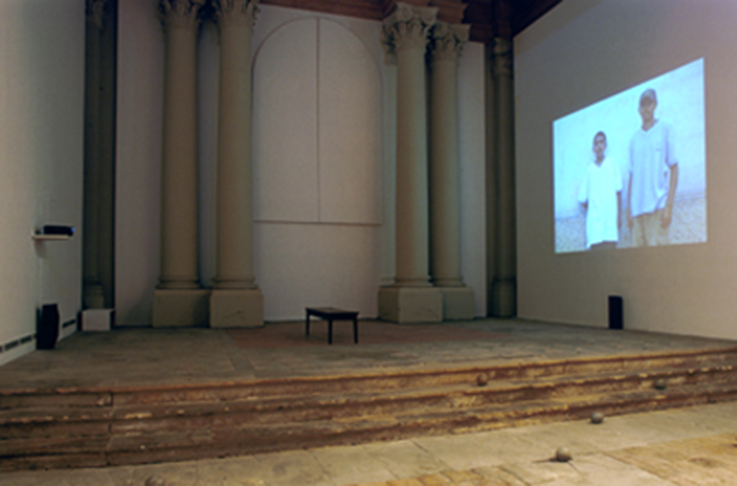 Installation view, Chapelle St.Jacques, Saint Gaudens, France