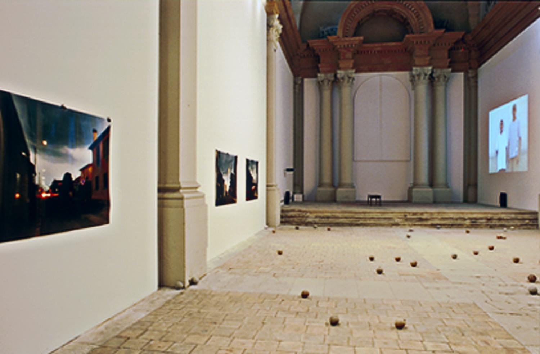 Installation view, Chapelle St. Jacques, Saint-Gaudens, France