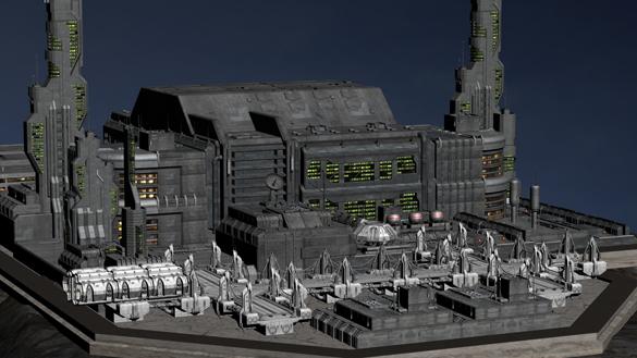 Base Station 29 Exterior
