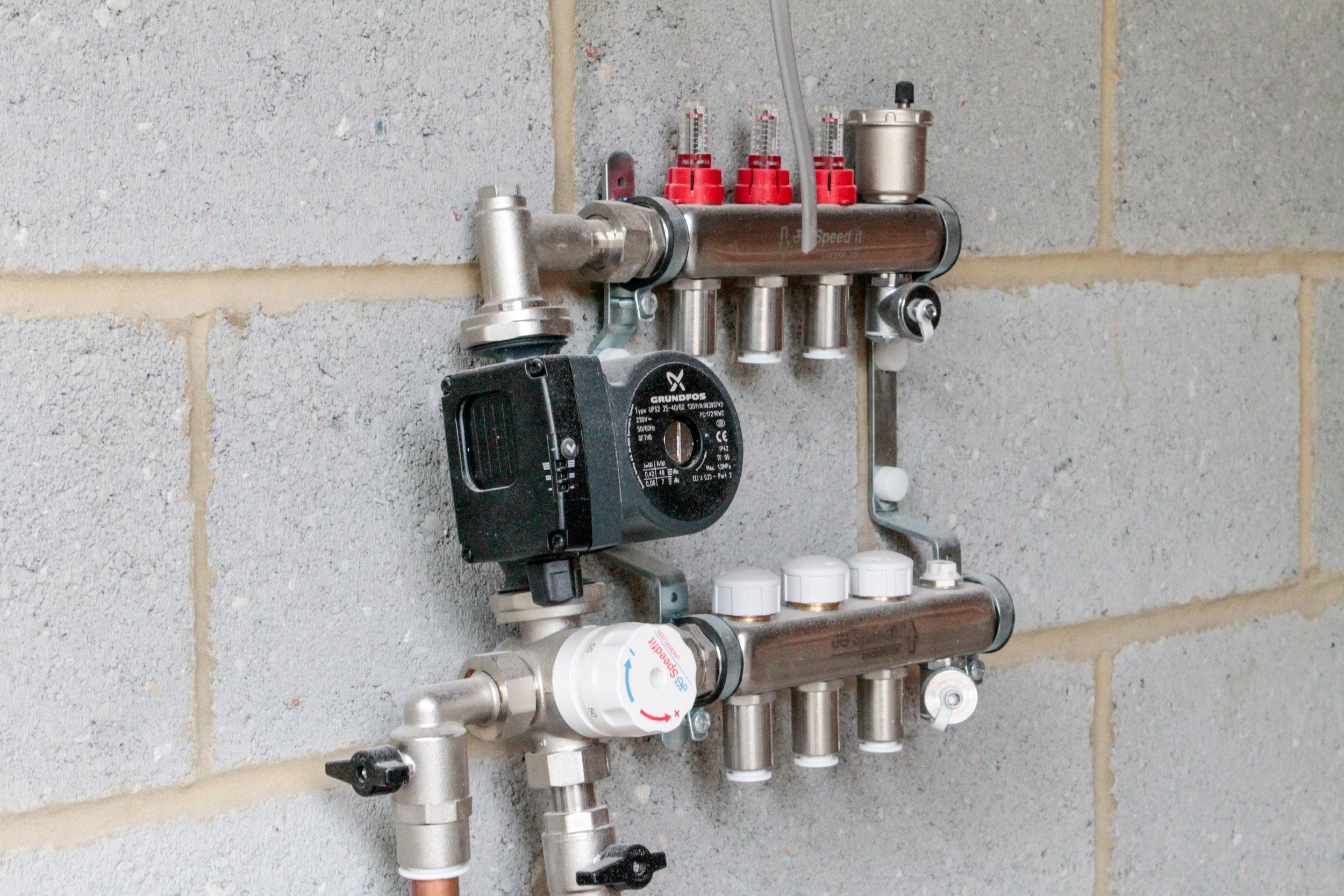 S3 Underfloor heating controller