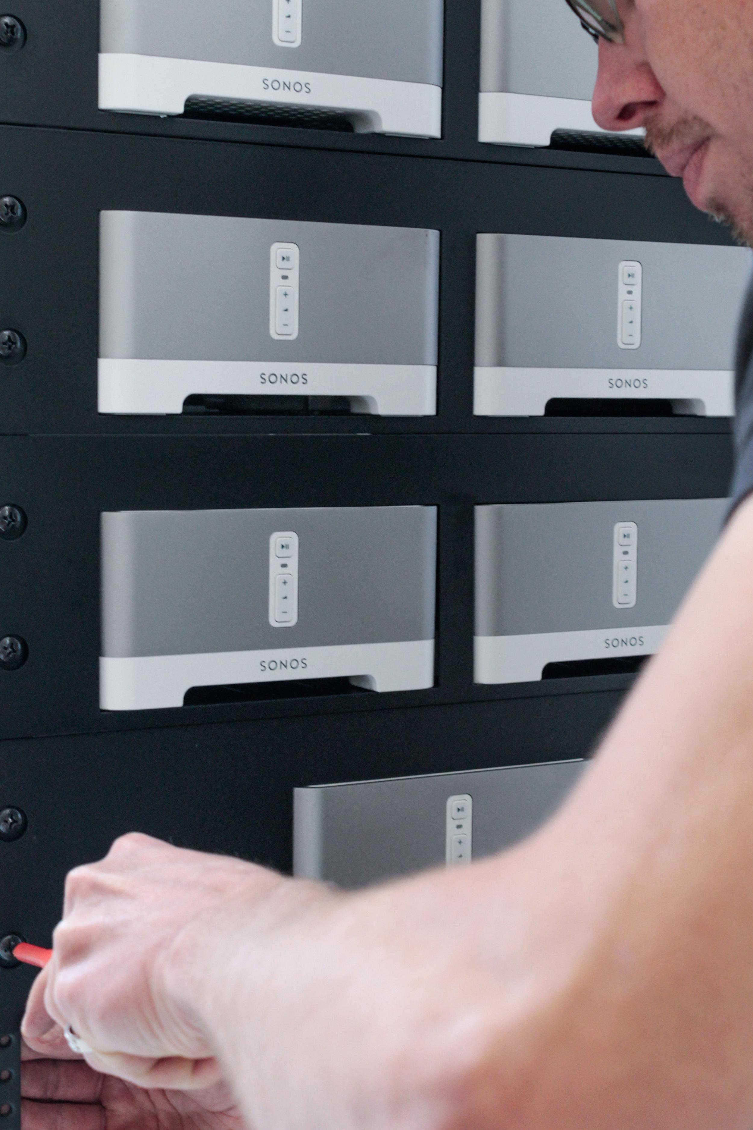 Sonos Server Rack