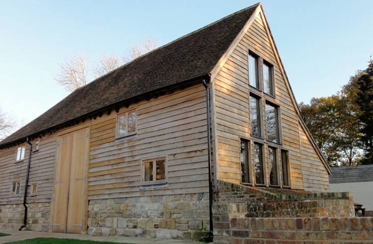 DUCKINGS FARM - RENOVATION AND CONVERSION OF A LISTED BARN BUILDING